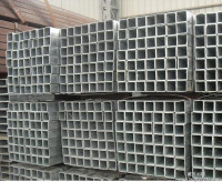 Hot sale productions cold rolled black annealed square pipe / welded pre galvanized square structure steel pipe / square tube