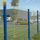 Outdoor 3D Square Post Powder Coated Welded Wire Mesh Fencing