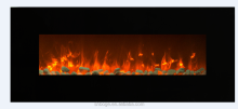 "50"" good quality home fake flame electric fireplace"