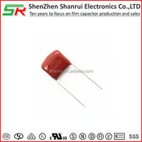 List all electronics components 125j 400v cbb21 capacitor made in china