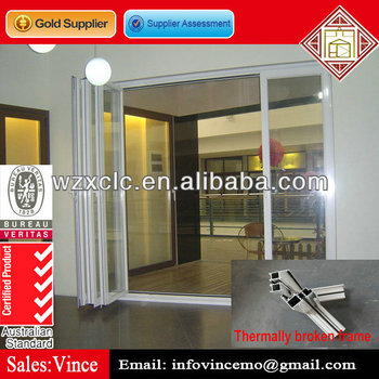Exterior Weatherproof Aluminum Folding Door