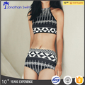 Custom Printed women bikinis China black brazilian bikini 2017