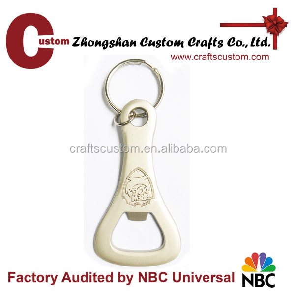 Promotional gifts expert factory custom key ring bottle opener
