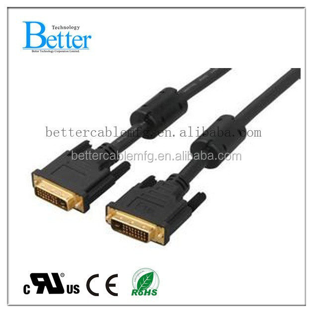 High Speed DVI DVI Cable for Computer, TV Set, DVD Players
