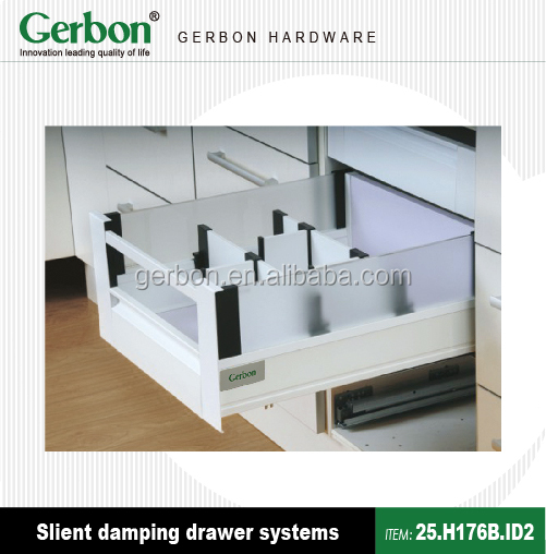 gerbon double wall drawer systems