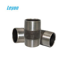 forged hydraulic hose fitting bsp threaded female thread hose connector china-made high quality close nipple