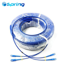 New design SC/UPC-SC/UPC SM Duplex Armored Fiber Optic Patch Cords