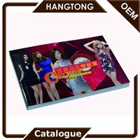 China supplier wholesale custom handmade fashional printing catalogs