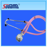 Cute dual head stethoscope with kinds of colors