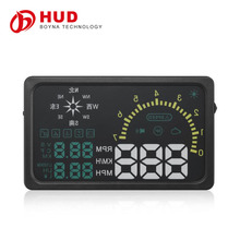 6 Inch Screen Auto Car HUD Head Up Display I6 HUD With Compass Display KM/h Car PC Driving Data On Car Front Window