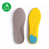 2017 Hot Selling High Quality Elastic Breathability Soft Shock absorption PU Memory Foam Diabetic Shoe Insole