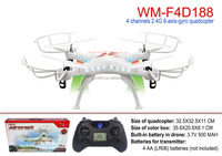 drone helicopter 2.4G 4 channel 6 axis rc quadcopter with LED light rc drone