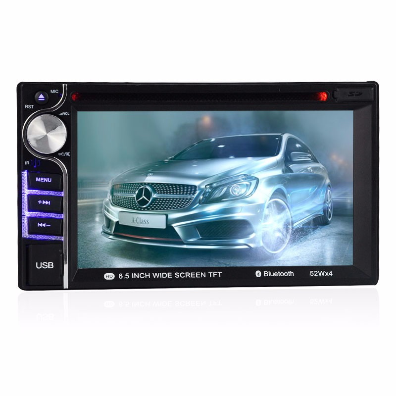 New Multimedia Vehicle-Mounted Bluetooth Radio car DVD Player link Rearview Camera