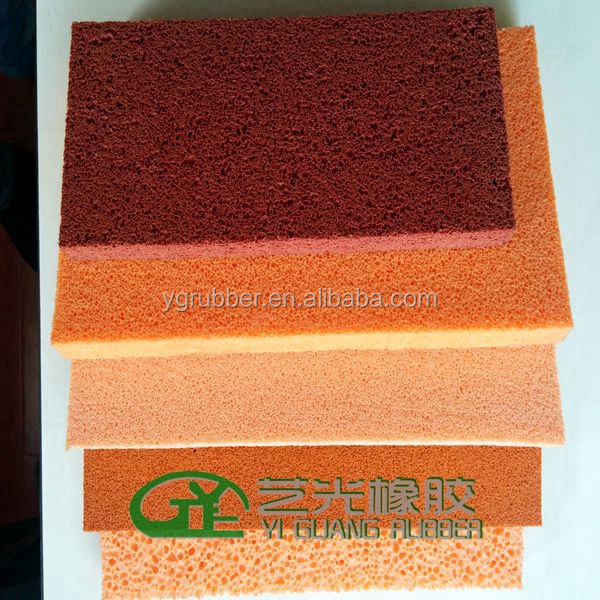 Open Cell Natural Sponge Rubber Products