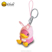 Promotional gifts key chain type pvc material 3D resin keychain