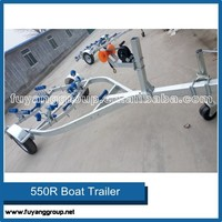 Good Quality Galvanized Inflatable Boat trailer