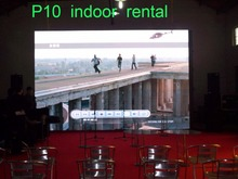 High Brightness Rental LED Displays for Meeting Room Video Display Advertising P10 Indoor