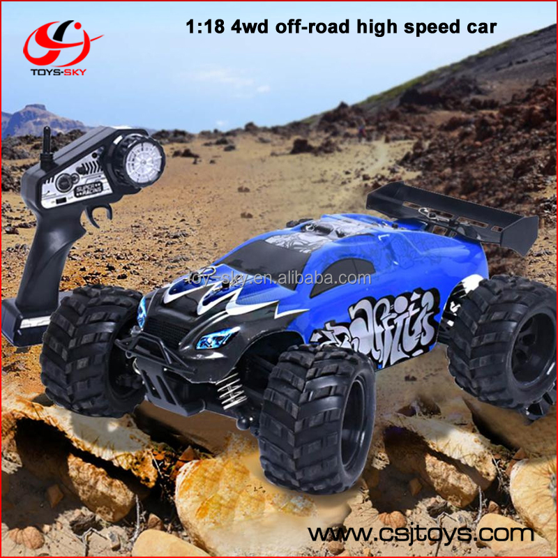 G18-1 1:18 2.4G High Speed RC Off Road electric car 4 wheel drive vehicle toys for children