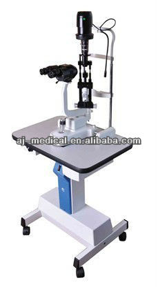 AJ-5E Slit Lamp Microscope / Converging Stereoscopic Microscope with Electric Table