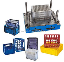 plastic beer fruit crate Transfer containerbarrel Storage turnover boxes injection mould