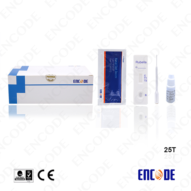 Laboratory diagnosis Rubella Rapid Test cassette / lateral flow rapid test cassette / China medical devices
