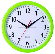 hot new products for 2015 plastic wal clock /decorative home decor/wall clocks wholesale