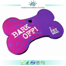 Custom-made Ctue Design Bone Shape High Density Purple NBR Seat Mat for Kids