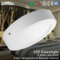 20w ultrathin round panel/LED downlight prices of solar street lights