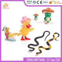 ICTI certificated custom cheap plastic vinyl farm animals toys for kids