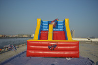 Small water slide for kids, commercial inflatable toys, good price inflatable slide B4093