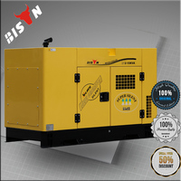 BISON China Zhejiang 15KVA Water Cooled Small MOQ Mitsubishi Generator with Fast Delivery