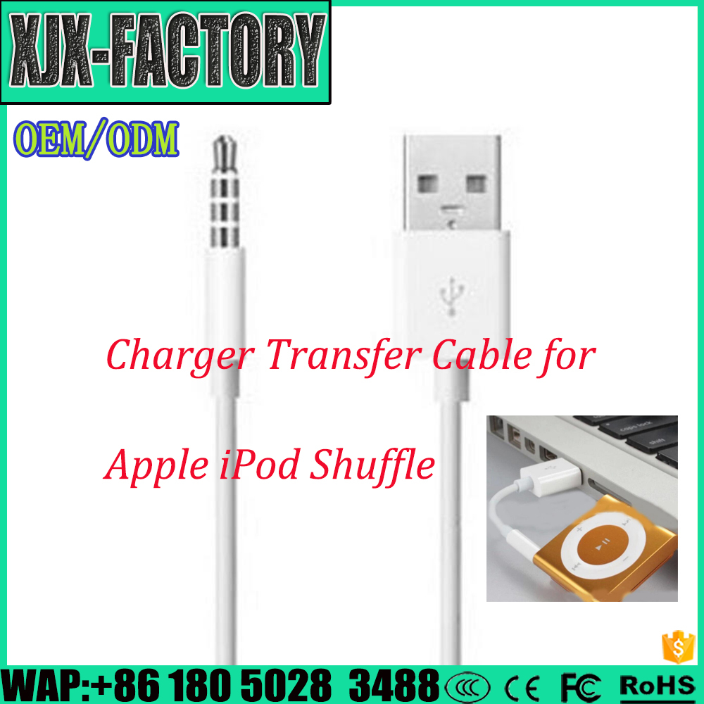 Top 3 factory!Hot Sale Professional Lower Price ata Sync Charger Transfer Cable for PC Laptop to Shuffle MP3 with chip