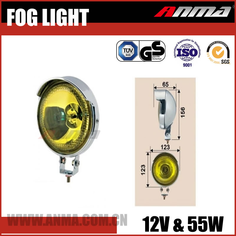 Auto motorcycle led headlight 12V 55W fog lamp H3 bulb LED fog lights