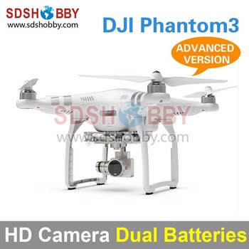 DJI Phantom3 Four-Axle Flyer HD High Definition Camera Quadcopter Advanced Version with Dual Batteries