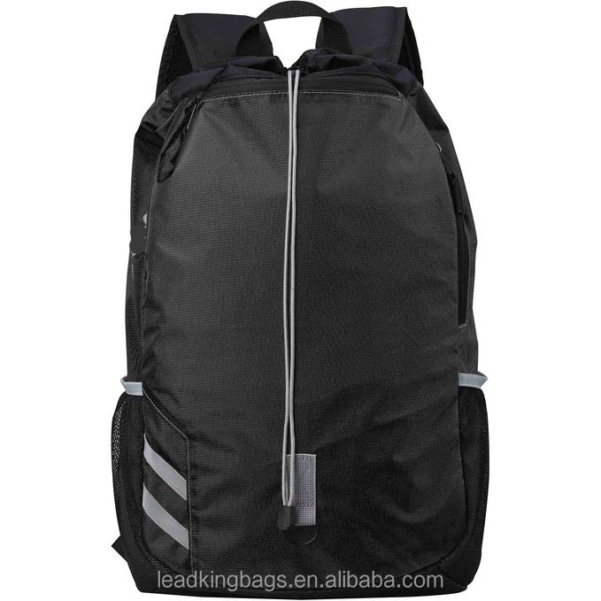 Sports gym backpack drawstring sackpack bag athletic bag for team training fitness