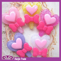 Kawaii ecopoxy craft resin cabochon for DIY accessory