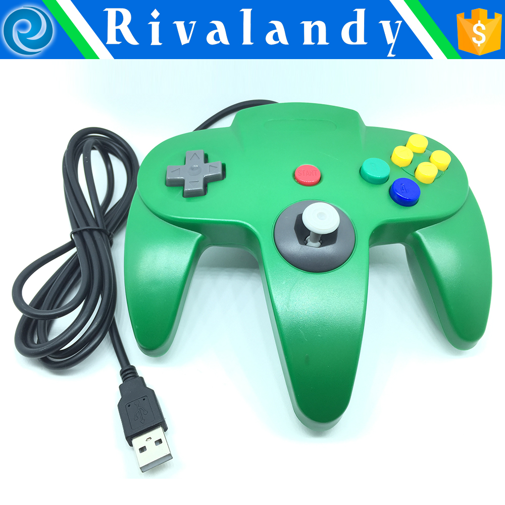 for game cube controller rohs for n64 joypad game controller for n64 video cable