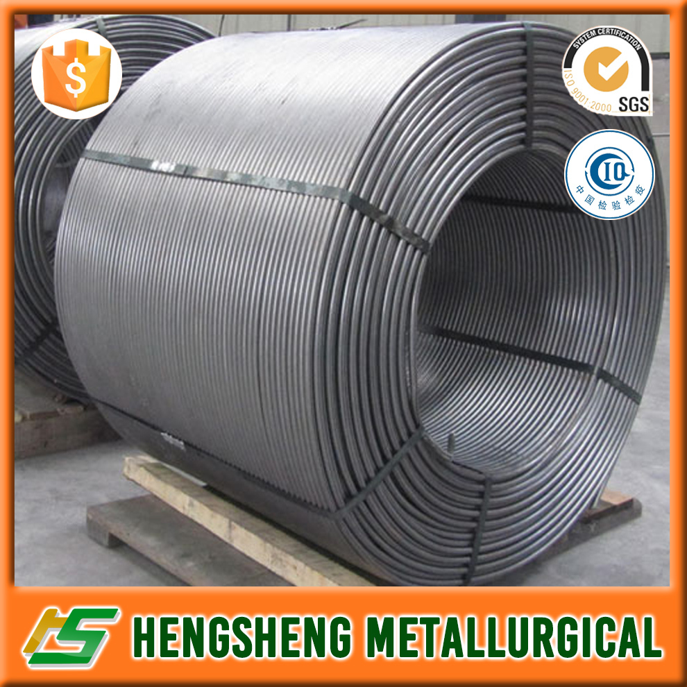 SiCa cored wires /CaSi cored wires / Metal products supplier in China