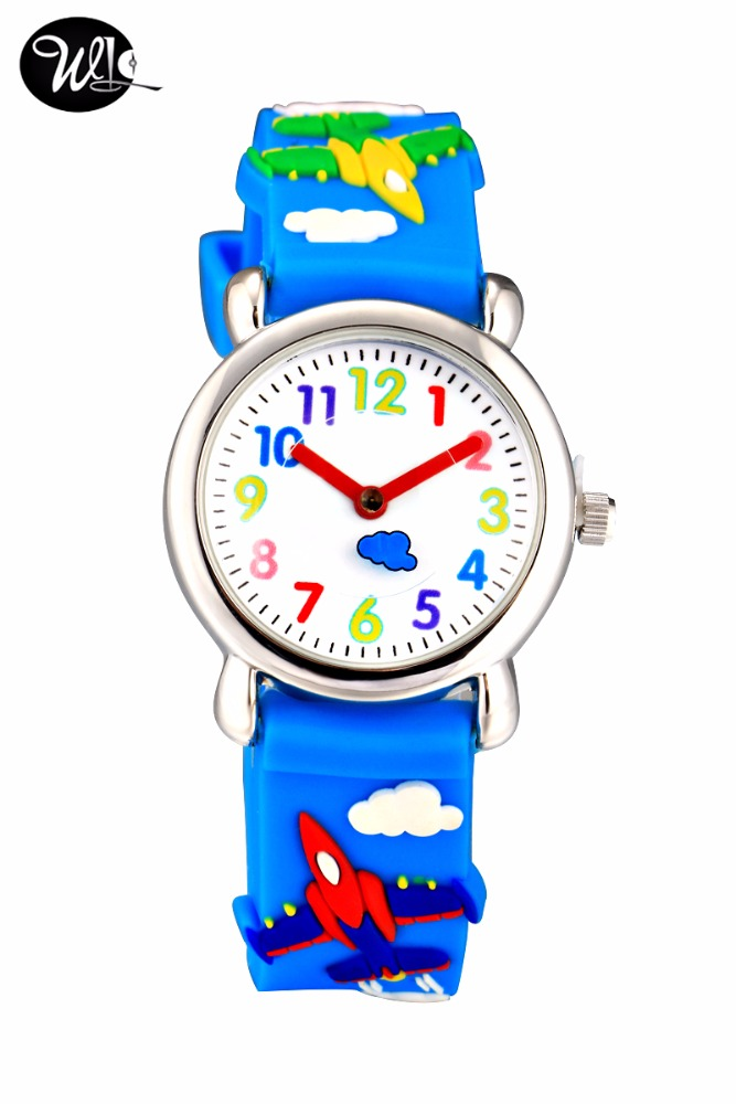 Cute cartoon cheap plastic kids watch for children