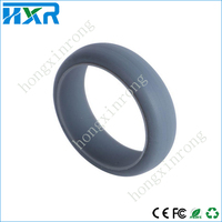Custom silicone wedding ring food grade silicone ring hot sale !