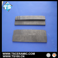 isostatic-pressured silicon nitride plate/tile/hook for non-ferrous molten metal