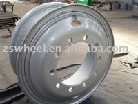 tube steel wheel rims 8.5-24 for tyre 12.00-24 with prompt delivery