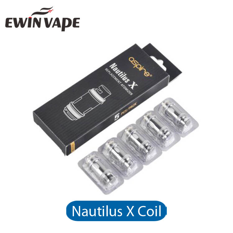 Stock Supply Original Aspire Nautilus X Coil Head for Nautilus X Atomizer