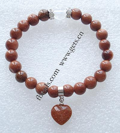 Goldstone Other Shape Cincinnati Bengals Bracelet