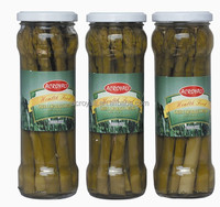 Canned Asparagus /Whole Green Asparagus Spears in glass jars 370ml