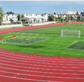 stadium 8lanes high school running athletic track