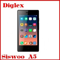 Original 5.0 Inch Siswoo A5 4g lte 3g wcdma Android Phone 1GB RAM 8GB ROM MTK6735 Quad Core Multilanguage Cell Phone