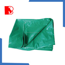 Reinforced Hem PVC Plastic Tarpaulin Sheet With Eyelets For Cover