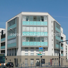 Prima innovative printing glass for residential buildings