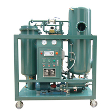 Hot sales oil purifier/filters/cleaning machine used for treat unqualified turbine oil